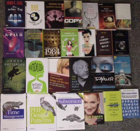 26 Bücher, die ich in 2006 gelesen habe