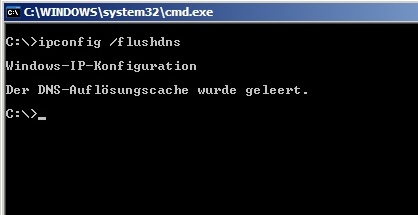 DNS-Cache unter Windows leeren