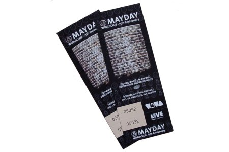 2 Tickets fr die Mayday 2006