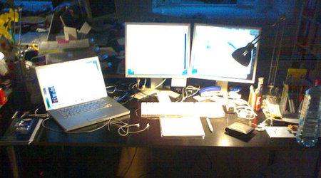 TripleHead2Go im Büro